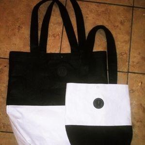 2 Lululemon tote bags